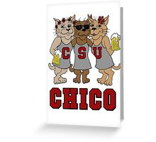 CSU CHICO - Wildcats Greeting Card