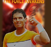 Nadal's force awakens by Dulcina