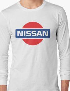 Retro Nissan Logo Long Sleeve T-Shirt