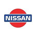Retro Nissan Logo by FriendlyMan