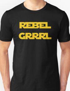 REBEL GIRL GRRRL PRINCESS LEIA STAR WARS T-Shirt