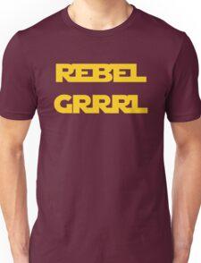 REBEL GIRL GRRRL PRINCESS LEIA STAR WARS Unisex T-Shirt