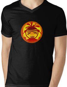 Native Symbols--Mother of Animals Mens V-Neck T-Shirt