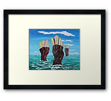 Three Cities Inside the Reef Framed Print