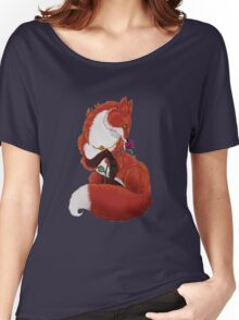 Pei The Fox Women's Relaxed Fit T-Shirt