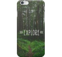 Explore Nature iPhone Case/Skin