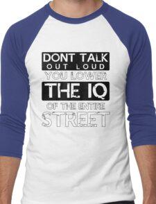 Sherlock - Don't Talk Out Loud... Men's Baseball ¾ T-Shirt