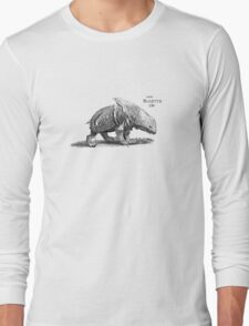 Medieval Bulette (with text) Long Sleeve T-Shirt