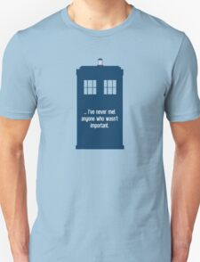 Doctor Who  - Tardis with Quote  T-Shirt