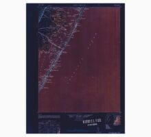 USGS TOPO Map New Jersey NJ Long Beach 255263 1948 62500 Inverted Baby Tee