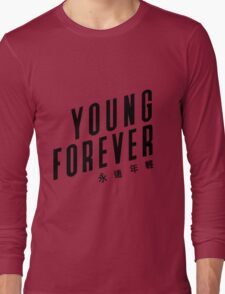 Young forever - BTS 190416 (WHITE) Long Sleeve T-Shirt
