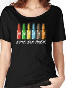EPIC SIX PACK Women's Relaxed Fit T-Shirt