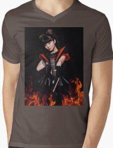 BABYMETAL - MOA RESISTANCE Mens V-Neck T-Shirt