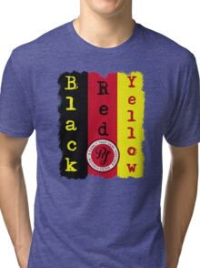 "Pearl Jam - Black, Red, Yellow ""Lyric inspired"" T Tri-blend T-Shirt"