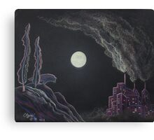 The Ghost of the Wilderness Canvas Print