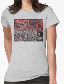 Retro Japanese Future Womens Fitted T-Shirt