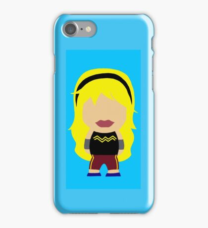 Little People - Young Justice Wonder-girl iPhone Case/Skin