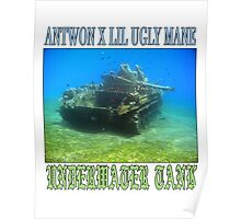 ANTWON X LIL UGLY MANE - UNDERWATER TANK Poster