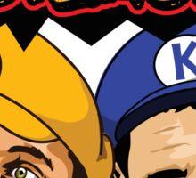 Steph Curry Klay Thompson Super Splash Bros Sticker