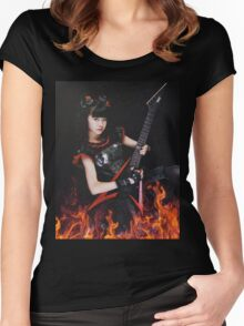 BABYMETAL - YUI RESISTANCE Women's Fitted Scoop T-Shirt