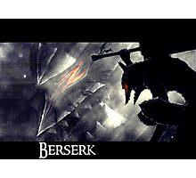Berserk - gatsu Photographic Print