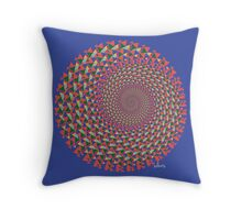 Triangle 432H Fractal Throw Pillow