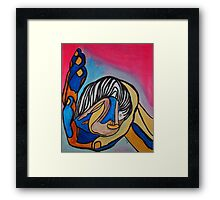 Small Love Framed Print