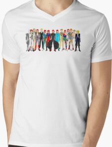 Group Bowie Fashion Mens V-Neck T-Shirt