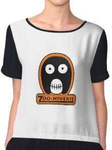 The Mighty Boosh Zooniverse Patch Chiffon Top