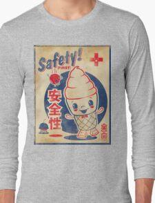 Retro Japanese AD Long Sleeve T-Shirt