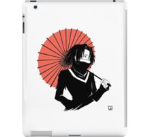 red umbrella iPad Case/Skin