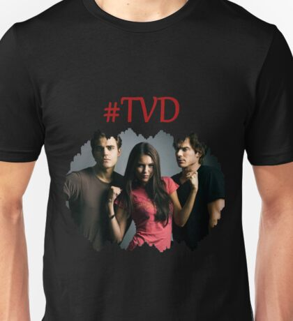 #TVD - The Vampire Diaries - Damon, Elena, Stefan Unisex T-Shirt