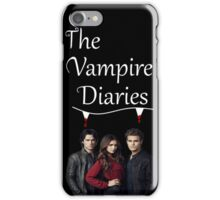 TVD - The Vampire Diaries - Elena, Damon and Stefan - (Designs4You) iPhone Case/Skin