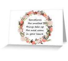 Heart Room Greeting Card