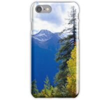 View at Stubai Alps in Tyrol iPhone Case/Skin