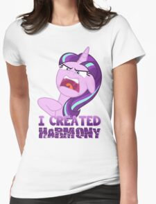STARLIGHT GLIMMER - HARMONY! Womens Fitted T-Shirt