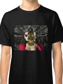 ANDROID XENIA SPACESHIP PILOT  / Sci -Fi Classic T-Shirt