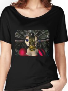 ANDROID XENIA SPACESHIP PILOT  / Sci -Fi Women's Relaxed Fit T-Shirt