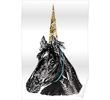 Party Horse Poster
