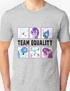 TEAM EQUALITY - WHITE VERSION Unisex T-Shirt