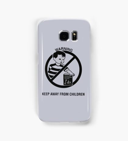 Keep Advanced Multivariable Calculus away from children Samsung Galaxy Case/Skin