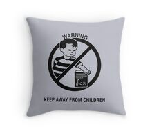 Keep Advanced Multivariable Calculus away from children Throw Pillow