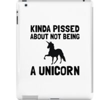 Pissed Not Unicorn iPad Case/Skin