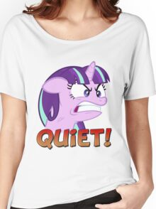 STARLIGHT GLIMMER - QUIET! Women's Relaxed Fit T-Shirt
