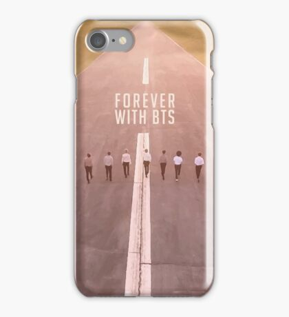 Forever with BTS. iPhone Case/Skin