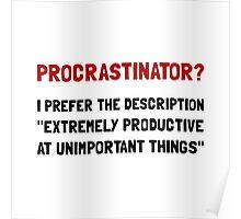 Procrastinator Poster