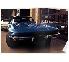 Corvette C2 Stingray Poster