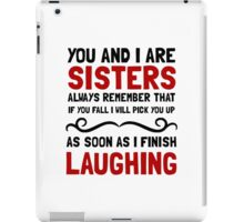 Sisters Laughing iPad Case/Skin