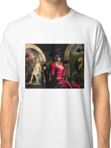 ANDROID XENIA IN HYPERION'S ORBITER  Sci-Fi Classic T-Shirt