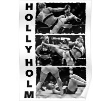 Holly Holm Kos Ronda Rousey Poster